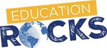 Education Rocks Retina Logo